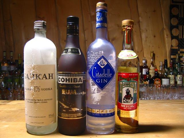 【お酒】スピリッツというお酒は、どういうものでしょうか?のサムネイル画像