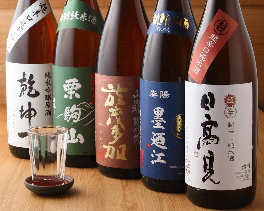 宮城県の日本酒大集合!言わずと知れたあのお酒から隠れた名酒までのサムネイル画像
