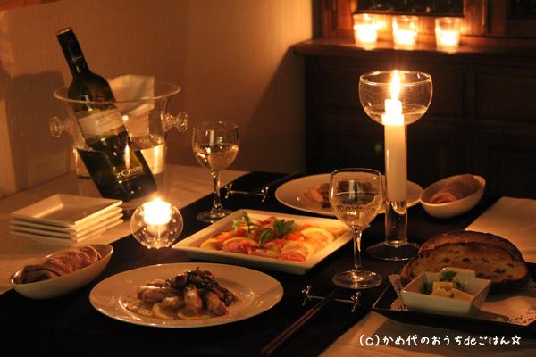 特別な日のディナータイムに!おすすめワインと簡単カクテルレシピ♪のサムネイル画像