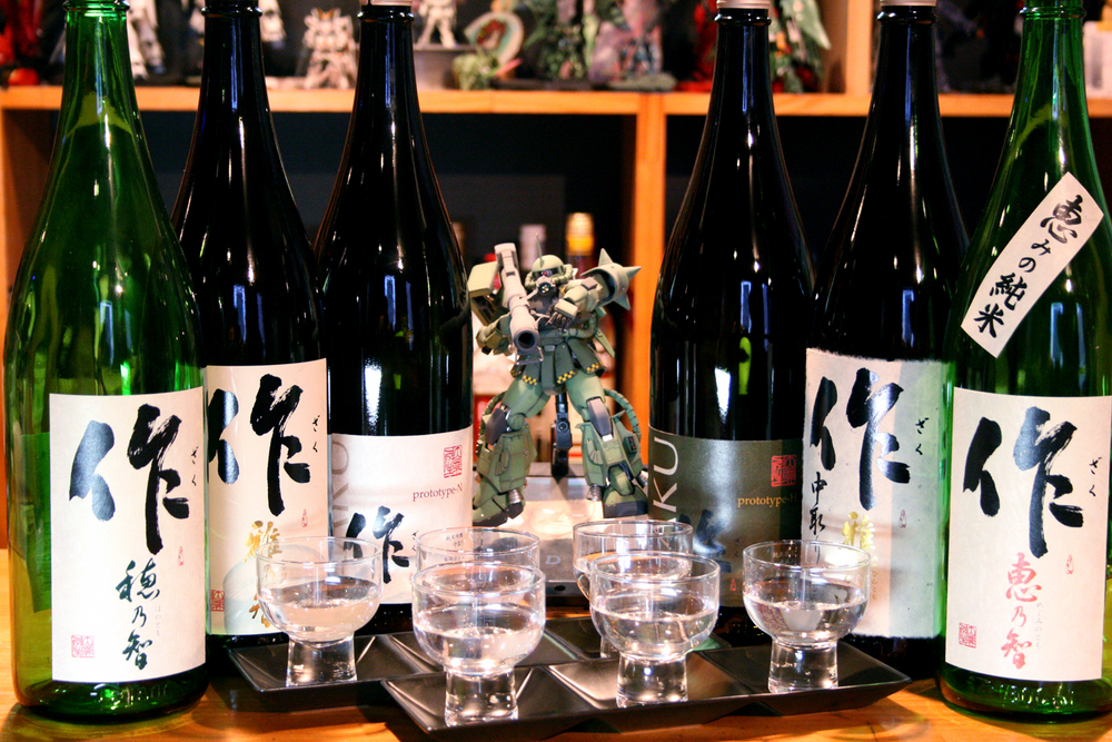 鈴鹿から日本全国に轟く名酒、作は違う日本酒なのだよ、作は!のサムネイル画像