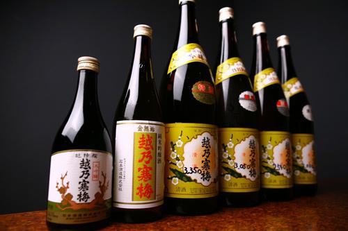石本酒造の美味しい日本酒、越乃寒梅の色々な銘柄の紹介まとめのサムネイル画像