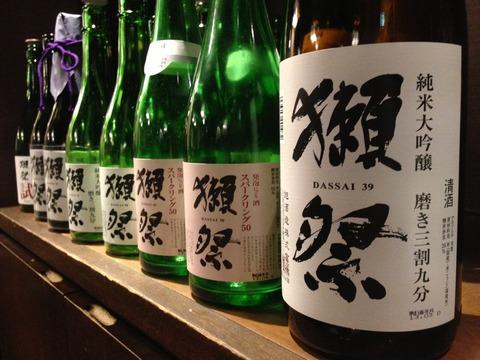 おすすめのおいしい日本酒、獺祭(だっさい)こだわりの一品をぜひ!のサムネイル画像