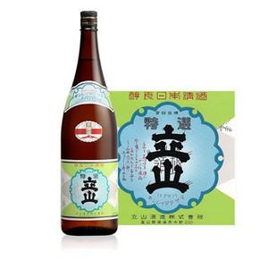富山の愛されている日本酒「立山」。その魅力を一挙に紹介します!のサムネイル画像