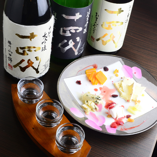 プレミアのつく日本酒がいくつかありますが、十四代もその1つですのサムネイル画像