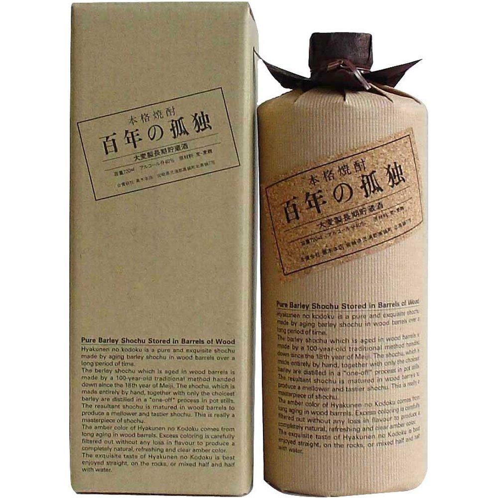 百年の孤独は、宮崎県の酒造会社・黒木本店から発売の麦焼酎の銘柄。のサムネイル画像