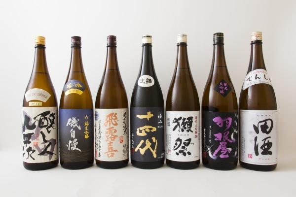 日本酒のを銘柄10選しました。お気に入りは入っていますか?のサムネイル画像